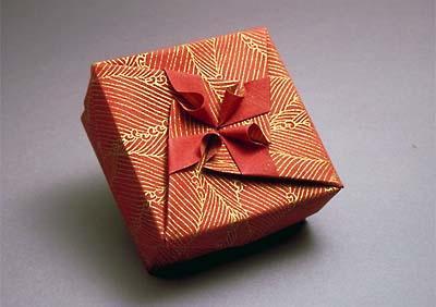 diy创意手工折纸风车纸盒教程
