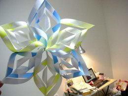 手工纸艺制作立体纸星星教程