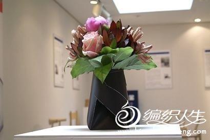 手工制作diy创意折纸花瓶
