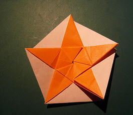 手工制作DIY星星纸盒的折纸方法图解