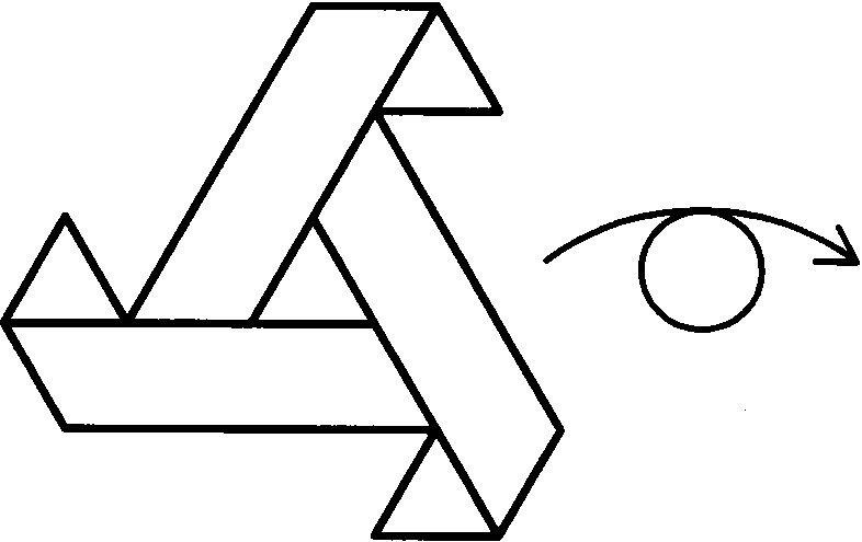 复杂折纸大全 三角形构造的四面体折法图解图片