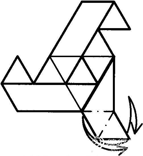 复杂折纸大全 三角形.-编织人生移动门户