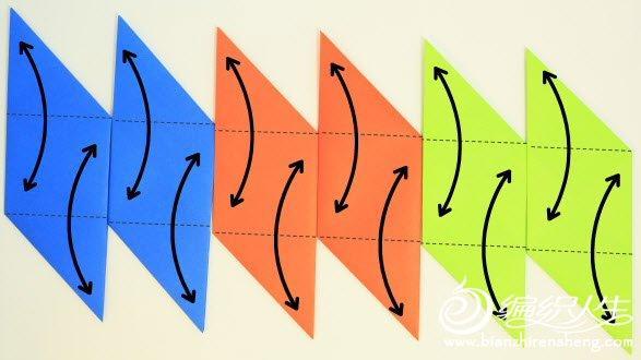 折纸大全之简单立方体.-编织人生移动门户