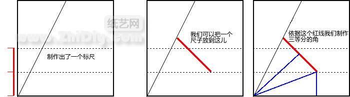 折纸与剪纸中角的三等分[纸艺理论](转载)