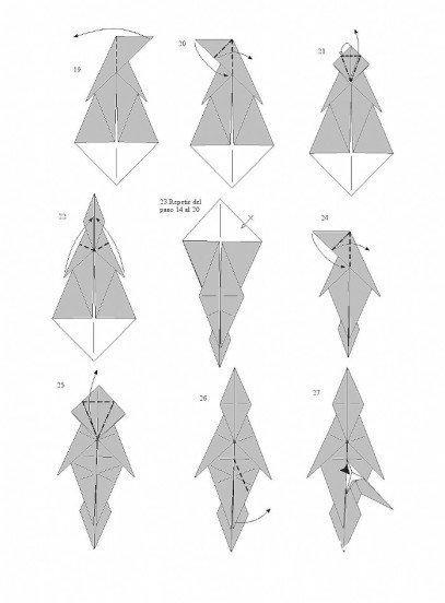 用纸折马的方法图解