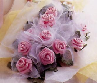 用泡棉手工制作花