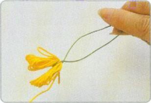 制作丝网铁莲花的详细图解