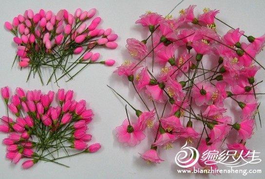关于制作丝网海棠花的详细图解