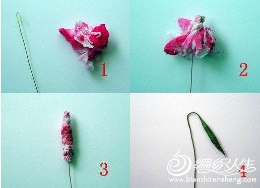 清新淡雅的绿绒蒿丝网花