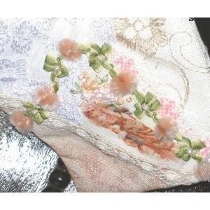 韩国手工丝带绣欣赏
