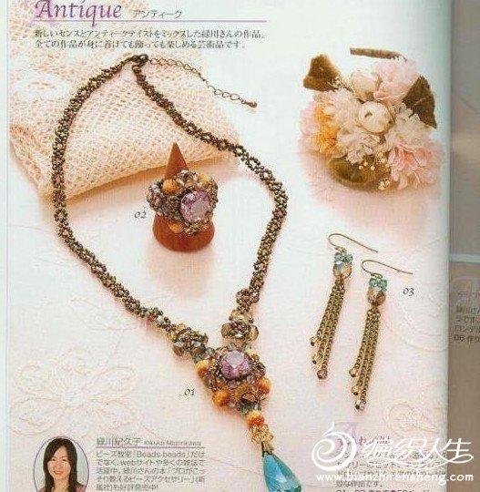 一些精美的串珠饰品图片欣赏图片