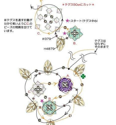 手工制作  串珠头饰的制作过程