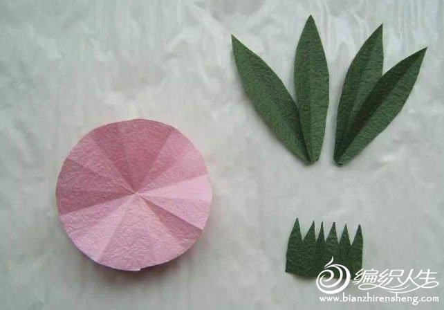创意DIY折纸康乃馨教程图解