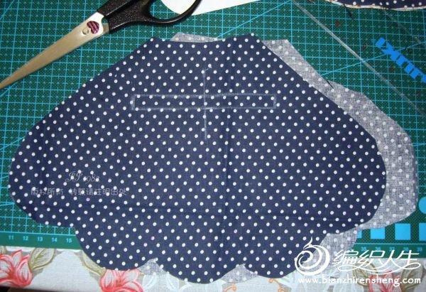 布艺口金包的设计图纸及制作过程