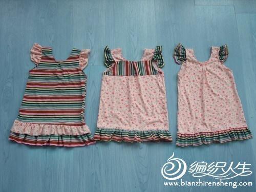 宝宝背心连衣裙的缝制方法过程-编织人生