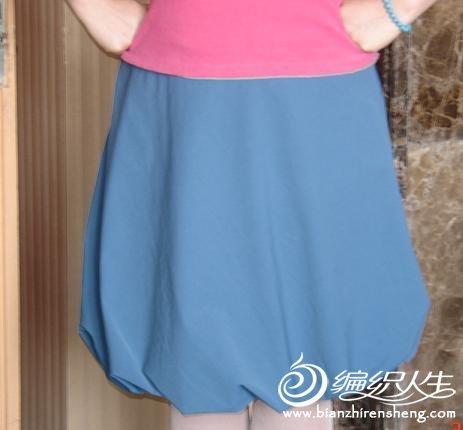 灯笼裙的手工制作图纸-编织人生