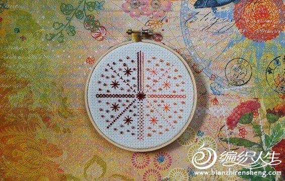超级微型十字绣与串珠结合作品