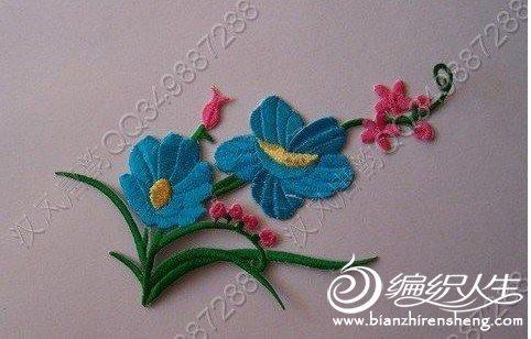 传统手工刺绣图案-编织人生移动门户