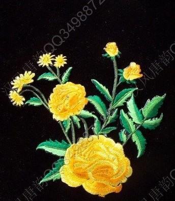 传统手工刺绣图案