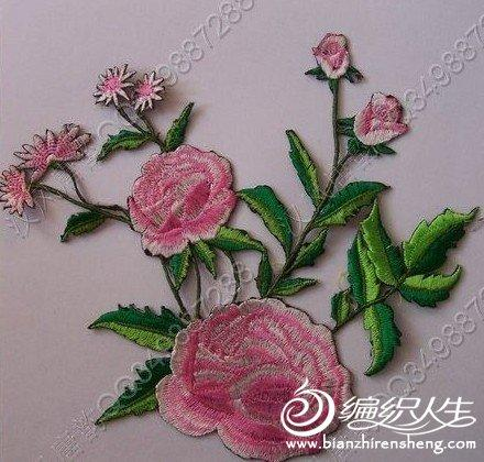 传统手工刺绣图案图片