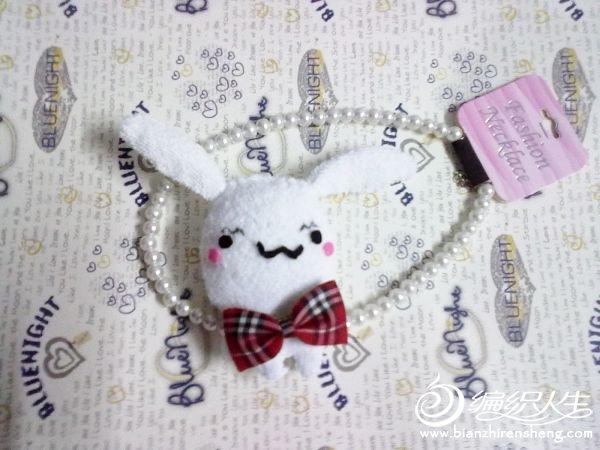 教你DIY一个可爱的毛巾兔子玩偶