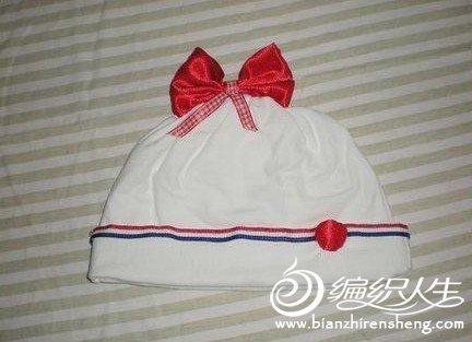 超可爱宝宝帽子的手工缝制过程