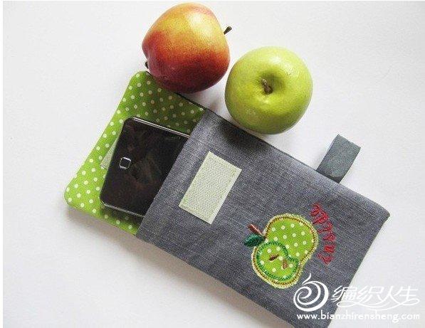 超可爱的布艺手机MP3包包