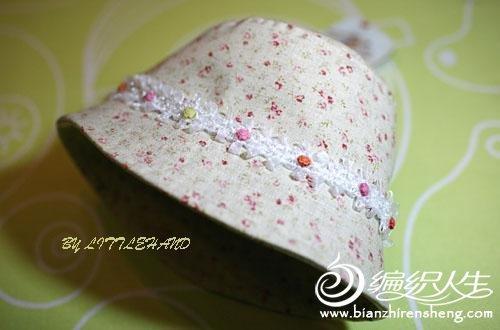 给你的宝宝缝制一顶漂亮的帽子