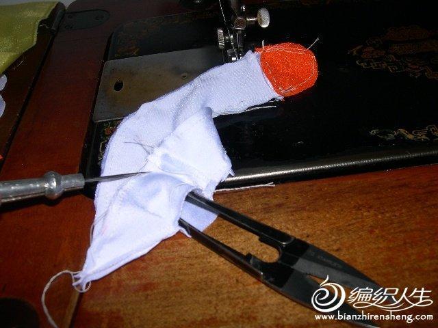 布艺白天鹅的详细缝制图解
