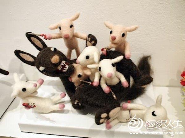 羊毛毡达人的手工作品秀图片