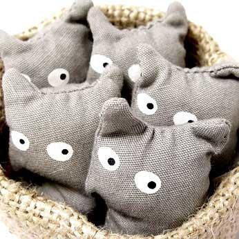 可爱的小猫咪麻布手工diy作品