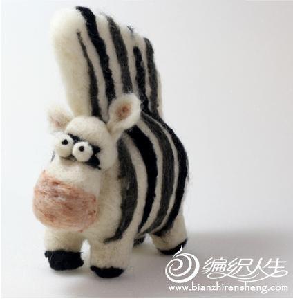 DIY手工制作充满童趣的毛毡动物图片