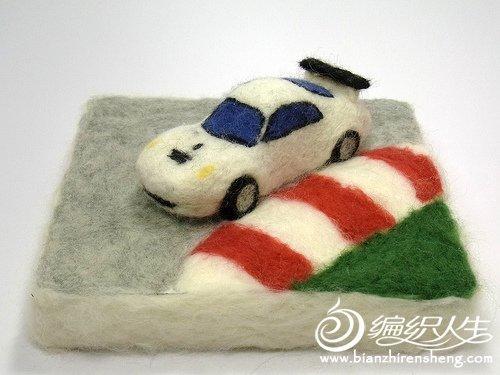 日本大师的羊毛毡手工制作图片欣赏