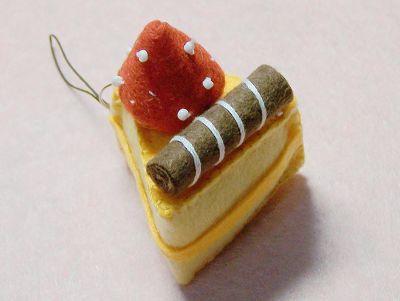 新款不织布手工制作蛋糕甜点图解教程