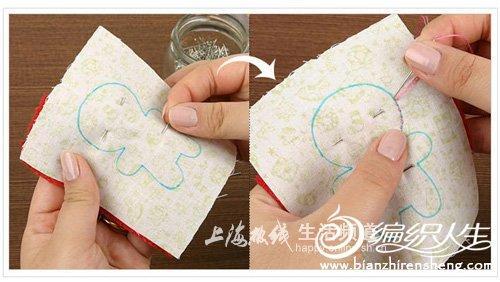 DIY布艺手工小制作 情人节甜蜜娃娃制作图解