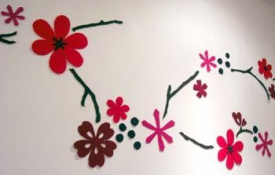 手工花朵粘贴画怎么剪