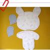 一款布艺兔子娃娃的详细制作过程