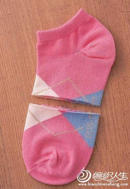 手工制作袜子娃娃之可爱招财猫图解教程