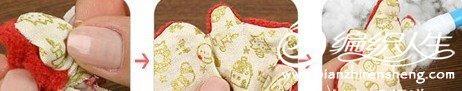 手工布艺之布艺玩具的教程