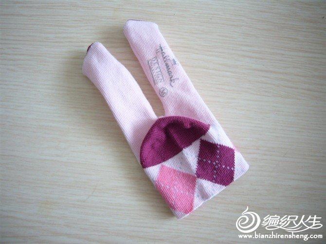 手工创作DIY袜子娃娃制作方法图解