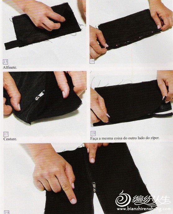 手工布艺制作手袋的教程图解
