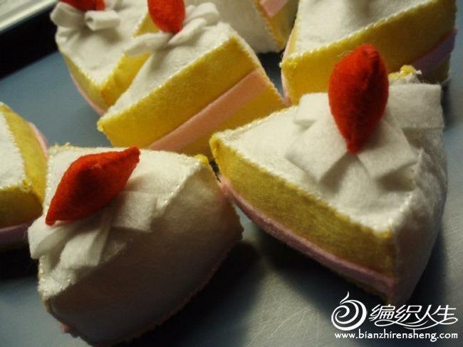 布艺手工diy制作美味甜点简易图解