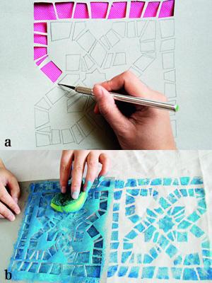 时尚布艺装饰画 打造完美创意新家居