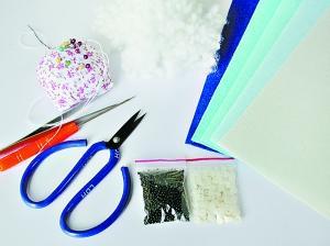 手工制作不织布信封的步骤