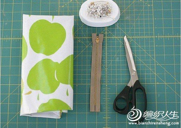DIY个性创意笔袋教程