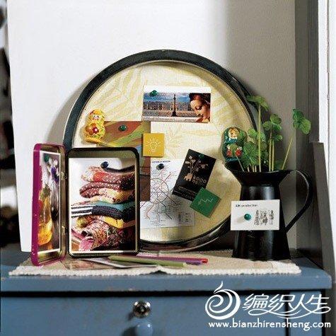 DIY制作低碳环保家居饰物图片