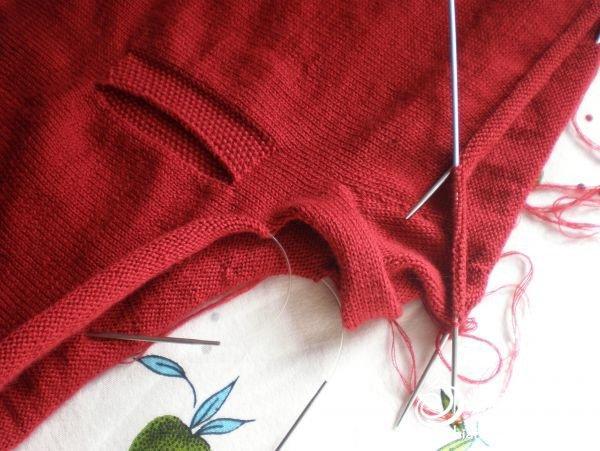 适合老人胖人穿的新型毛裤编织教程