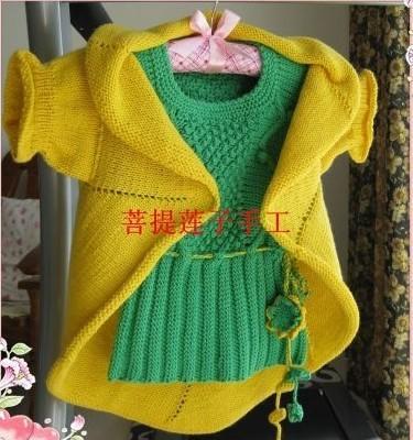 宝宝风车衣的编织教程
