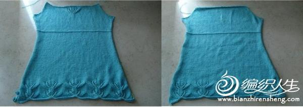 时尚可爱吊带衫的编织教程
