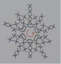 钩针编织教程之小怪挂饰的教程图解